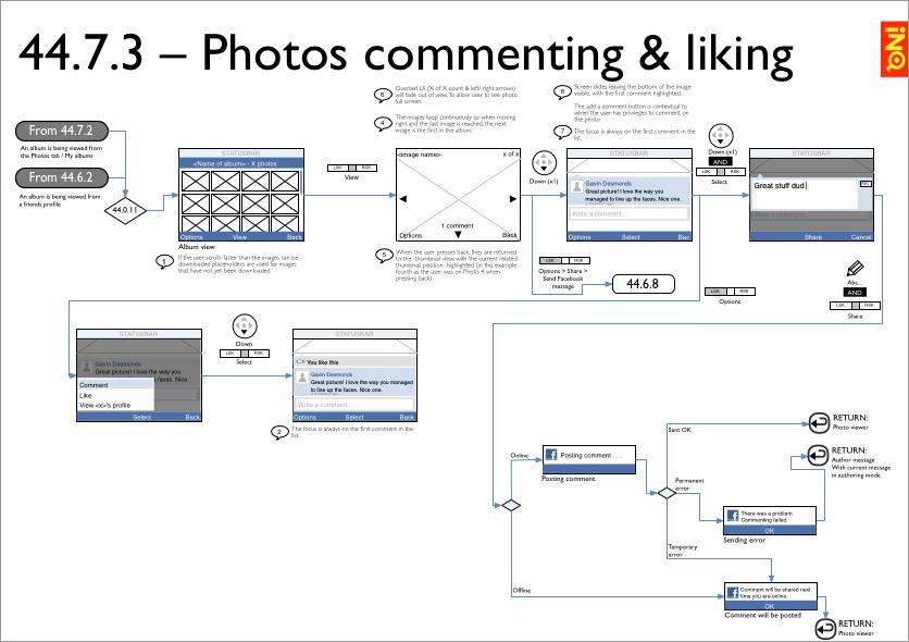 Facebook app - flows 2