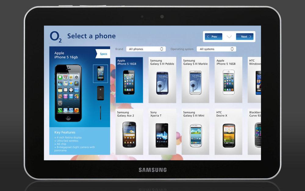 O2 Retail app